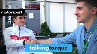 Charles Leclerc Live Q&A | Talking Torque Exclusive