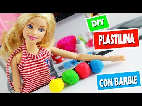 DIY Plastilina Casera para Niños - Haz Manualidades con Barbie