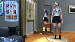 Sims 3: Supernatural & Mods - Creating A Sim