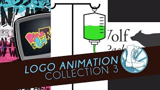 Logo Animations Collection 3: Rina & Bri TV (Youtube Intro/Outro), Onux iV Bar, and Marilee Wolf