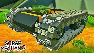 TOP 10 CONSTRUCTIONS INCROYABLES ! | Scrap Mechanic !