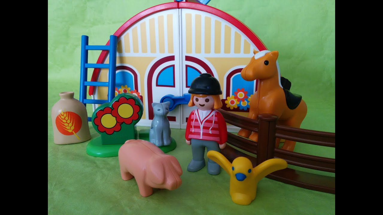 Granja de playmobil espa ol juguetes para ni os playmobil for La granja de playmobil precio