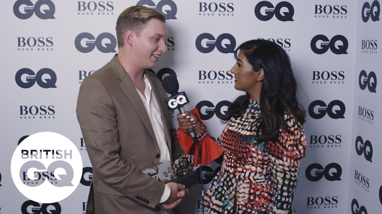 George Ezra on what it was like performing next to Kylie Minogue | British GQ