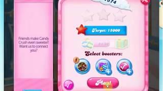 Candy Crush saga level 1574 WIN