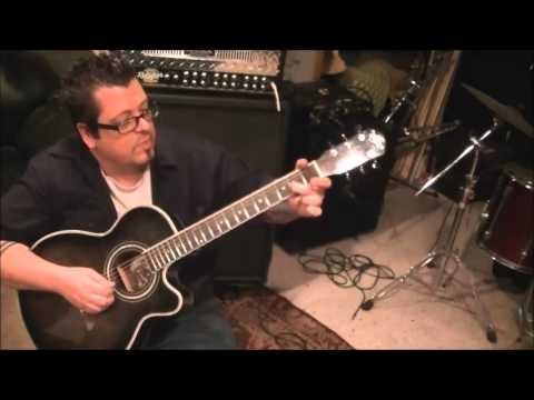 How to play Im The Only One by Melissa Etheridge on guitar by Mike Gross