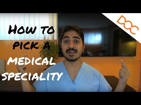 How to Pick A Medical Specialty - Post Match Viewpoint