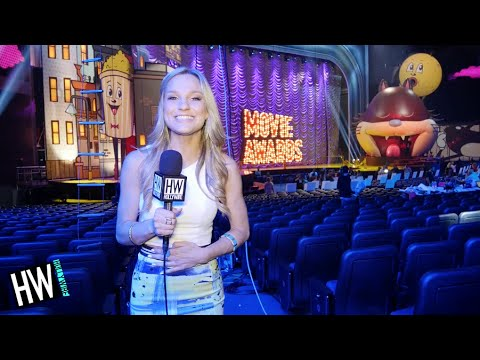 2015 MTV Movie Awards: Behind The Scenes! (FIRST LOOK)