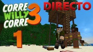 "DIRECTO ""#CorreWillyCorre3"" - Episodio 1 - MINECRAFT Mods Serie | Willyrex"