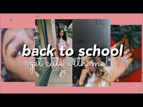 School Preparations: GET CUTE WITH ME! Nails, Lashes, Hair & Brows! ⎪Soufeel Jewelry