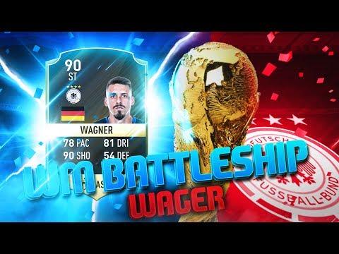 FIFA 17: WM QUALIFIKATION BATTLESHIP WAGER 🔥😱 Powered by @ElgatoGaming