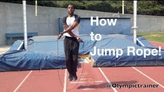 How to jump rope! (Jumping rope for beginners)