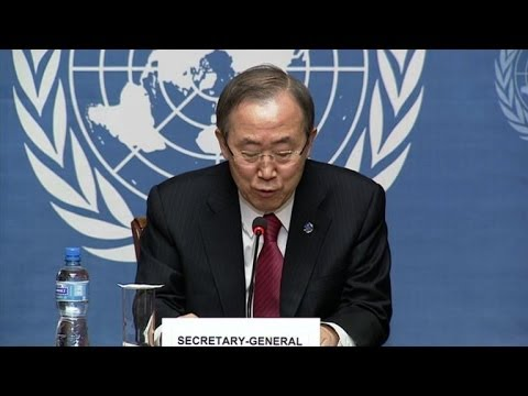 UN chief urges Russia not to escalate Ukraine crisis