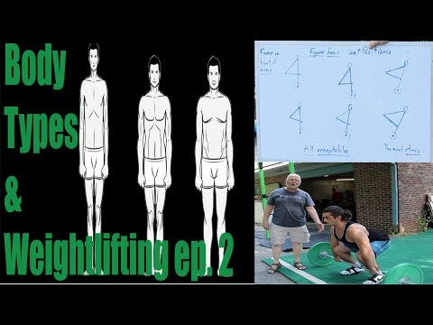 How Different Body Types Affect the Lifts episode 2