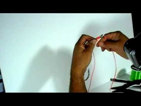 Fishing Knots , How to snell a Tandem Fluke Rig
