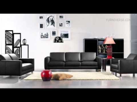 (ares-283)-black-leather-sofa-set