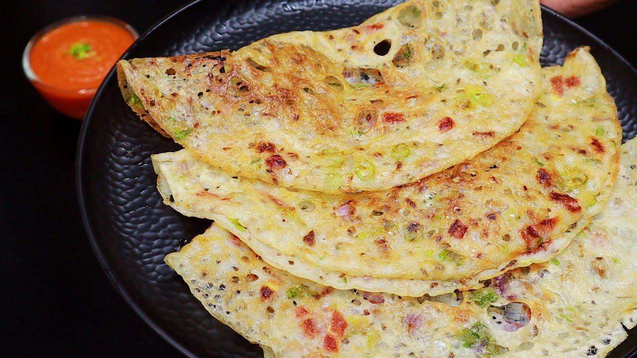 10 മിനിറ്റ് കൊണ്ട് ഇതൊന്നു ചെയ്തു നോക്കൂ, രുചിയേ വേറെ😋😋| Instant Suji Rava Dosa | Breakfast Recipes