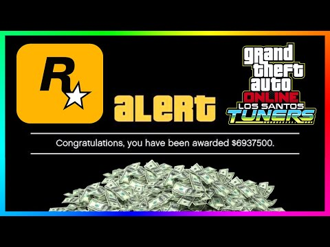 FREE MONEY Is Here For ALL Players In GTA 5 Online - NEW Los Santos Tuners DLC UPDATE \u0026 MORE!
