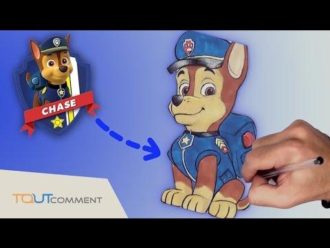 Dessin De Paw Patrol La Pat Patrouille Chase Le Chien Policier Et Espion Youtube