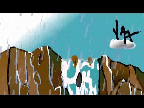 Rainy Waterfalls animation