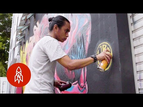 Coloring The Streets Of Singapore