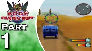 Let's Play Body Harvest (Gameplay + Walkthrough) Part 1 - Greece in Danger!