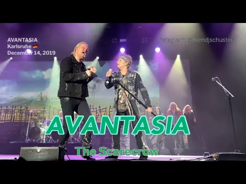 Avantasia - The Scarecrow @Knock Out Festival, Karlsruhe, Germany,  December 14, 2019 4K LIVE