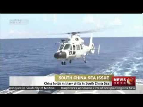 China holds military drills in South China Sea