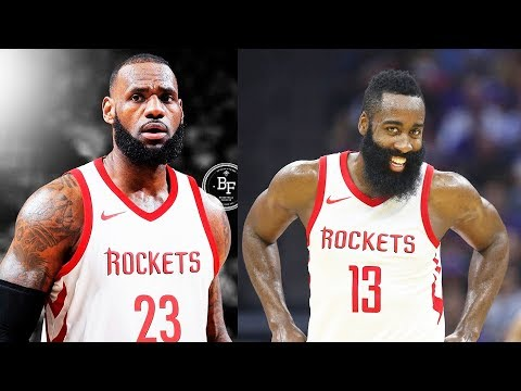 LeBron James Signing with Rockets and Joining James Harden and Chris Paul on the Rockets?