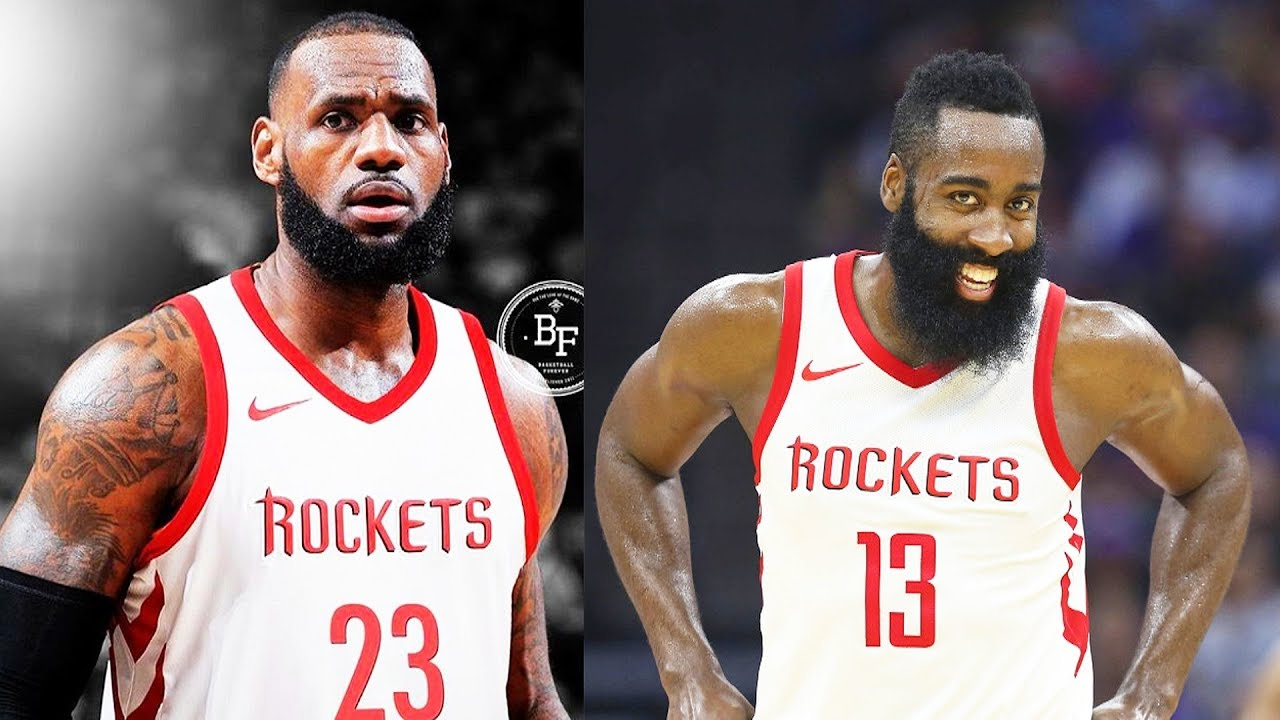 d446910883d4 LeBron James Signing with Rockets and Joining James Harden and Chris Paul  on the Rockets
