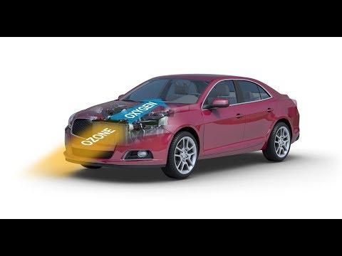 Automóviles que convertían el CO2 en oxigeno