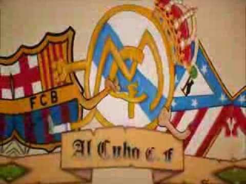Escudos de Futbol (Real Madrid,Barcelona y Atletico de Madrid) - YouTube
