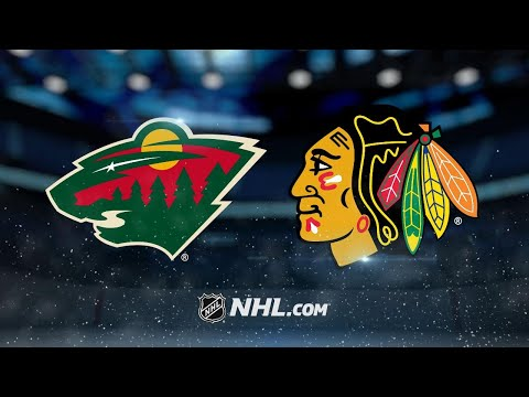 Stewart scores twice as Wild defeat Blackhawks
