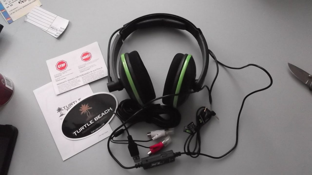 how do turtle beach headsets hook up I bought a refurbished turtle beach x31 headset off here how do i get audio from the tv to my headset i hooked those red and white audio wires into my tv's red/white audio outs and ran it to the receiver, but to no avail.