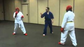 Kempo Sparring - Julio vs Jacob