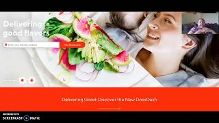 DoorDash Food Delivery - From Restaurants Near You | Get Paid Delivering Restaurant Food