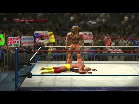 WWE 2K14: ULTIMATE WARRIOR VS HULK HOGAN -...