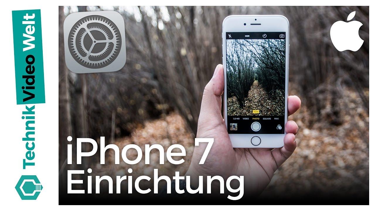 iPhone 9 einschalten, einrichten und einstellen