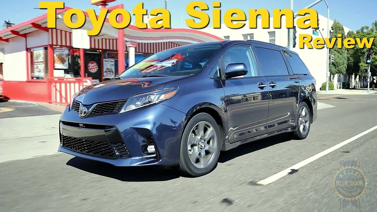 2018 Toyota Sienna Review And Road Test