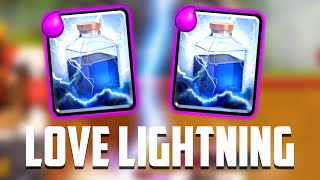 Clash Royale - I LOVE LIGHTNING. (New Deck!)