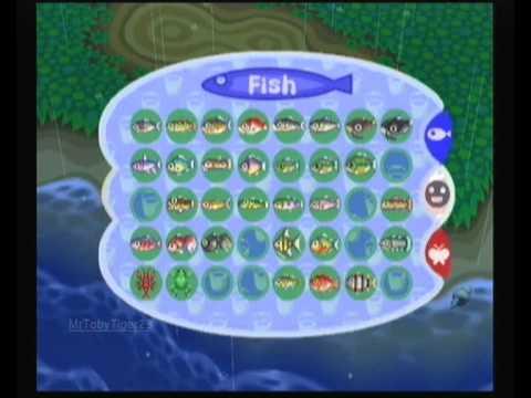 Animal Crossing - Fishing For Coelacanths