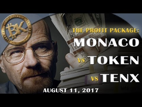 MONACO | TOKEN | TENX PAY 💰 ICO Update Free Bitcoin Technical Analysis & Crypto Currency News 2107