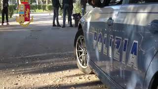 Polizia, controlli a Piazza Umberto