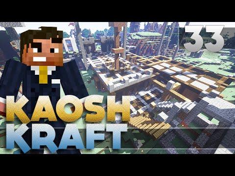 CASTLE ARENA!  - Minecraft KaoshKraft SMP - Episode 33