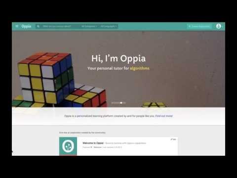 Oppia.org - Intelligent Online Learning