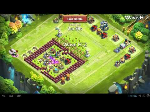 Castle Clash Best Defense/ Setup Base For Hbm H?