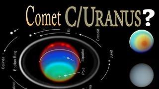 Is Planet Uranus a Comet that rains Diamonds?