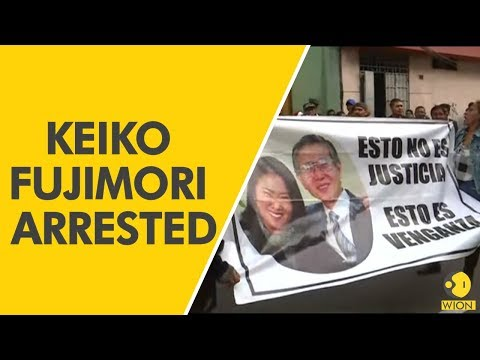 Tensions high in Peru after arrest of Fujimori opposition leader