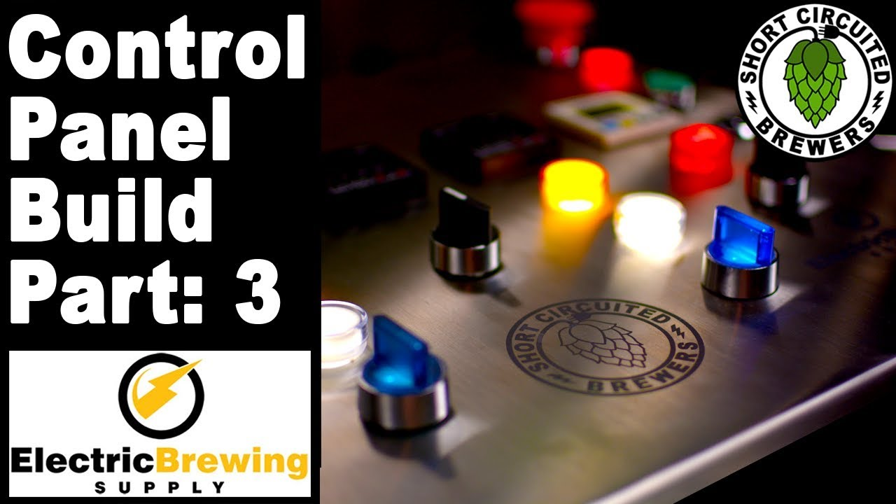 electric brewing supply control panel build wiring the control rh youtube com
