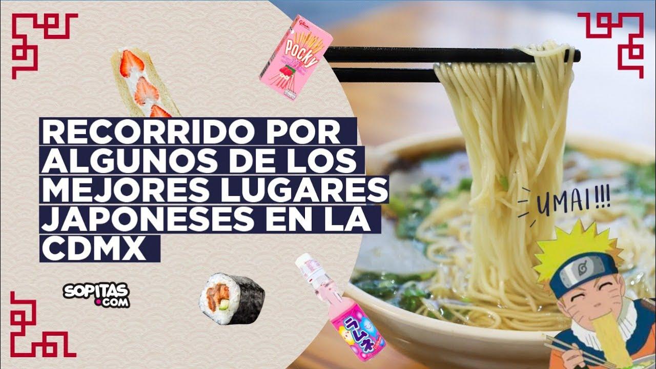 ¡Pasa un día a la Tokio en CDMX! I ¿Dónde comer la mejor comida japonesa en México?