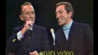 Andy Williams and Bing Crosby